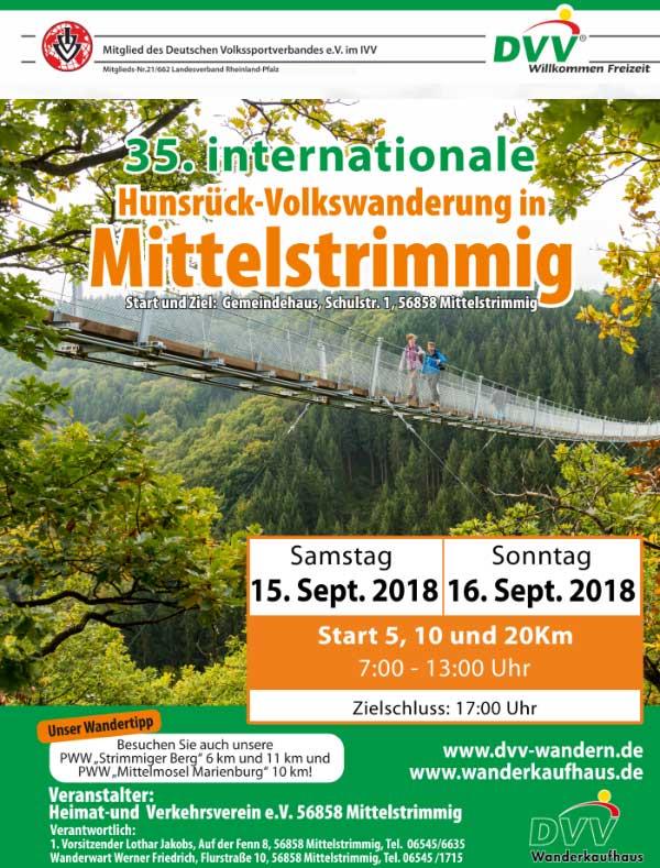 Ivv Wandertag Gemeinde Mittelstrimmig Hunsrück